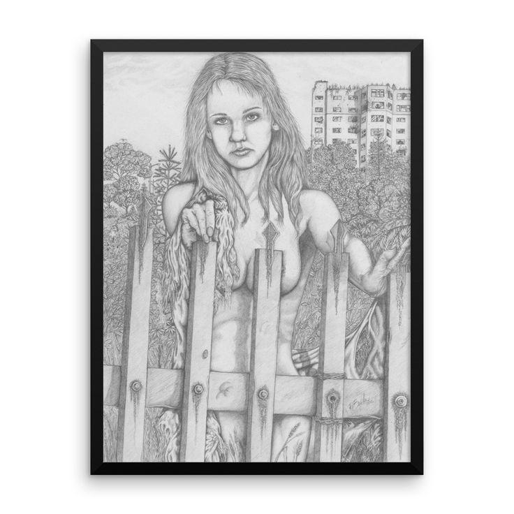 The Gate Keeper - Framed poster