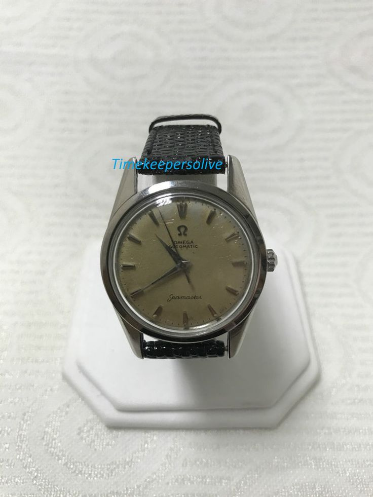 b060 Vintage Original Omega Automatic Seamaster 1960's Elegant Swiss Wrist Watch #OMEGA