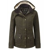 Barbour Ladies' Convoy Jacket – Olive LWX0427OL51 - Ladies' Wax Jackets - Ladies' Jackets and Coats - WOMEN | Country Attire