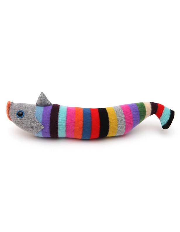 A knitted fish of course