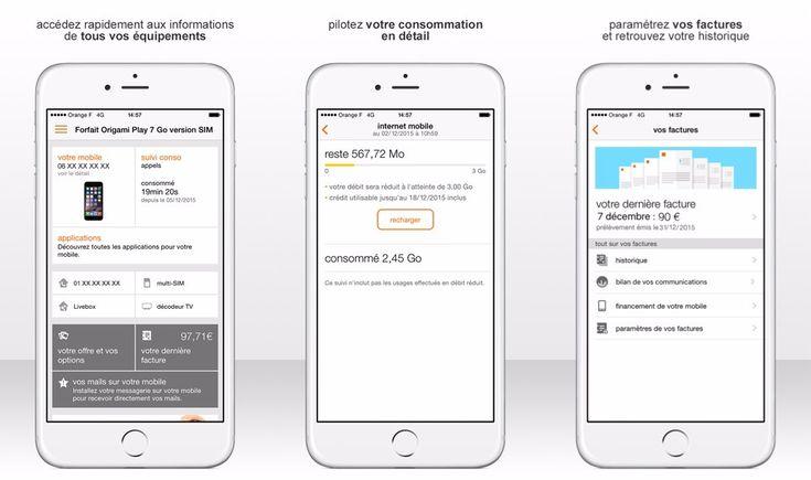 Orange et Sosh proposent de payer la facture dactiver une SIM et plus depuis leurs applications