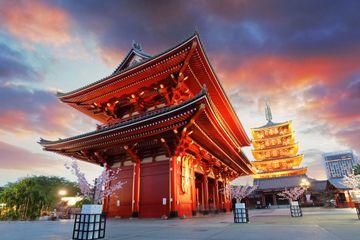 Morgendliche Rundfahrt durch Tokio: Meiji-Schrein, Senso-ji-Tempel und der Einkaufsbezirk Ginza