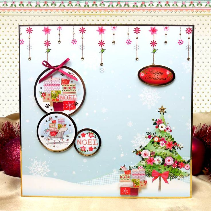 Warmest Wishes by Hunkydory Crafts. Card made using 'Christmas Wishes' topper set