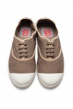 Bensimon Shinypiping beige et cuivre
