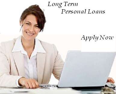 get personal loan for long term, just apply with us and cash will deposit into your active bank account.