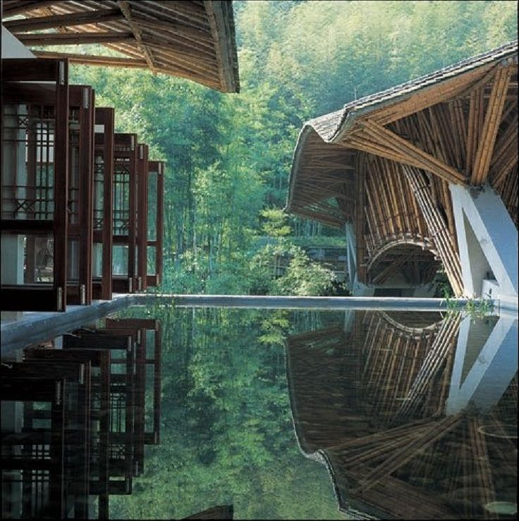 Japanese simplicity: Colombian Architect Simón Vélez, made with chinese Bamboo in China