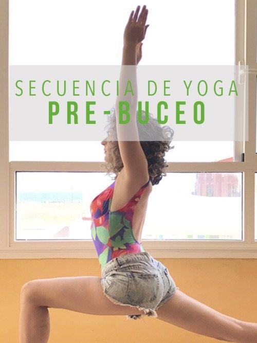 Secuencia de yoga para buceo   Yogui Principiante