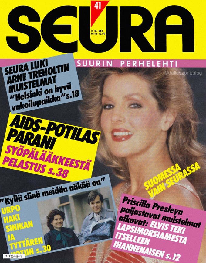 Priscilla Presley on Seura 1985: Elvis turned a child bride into an ideal woman.