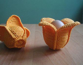 Tulip Egg Cosy   Crochet, Handmade