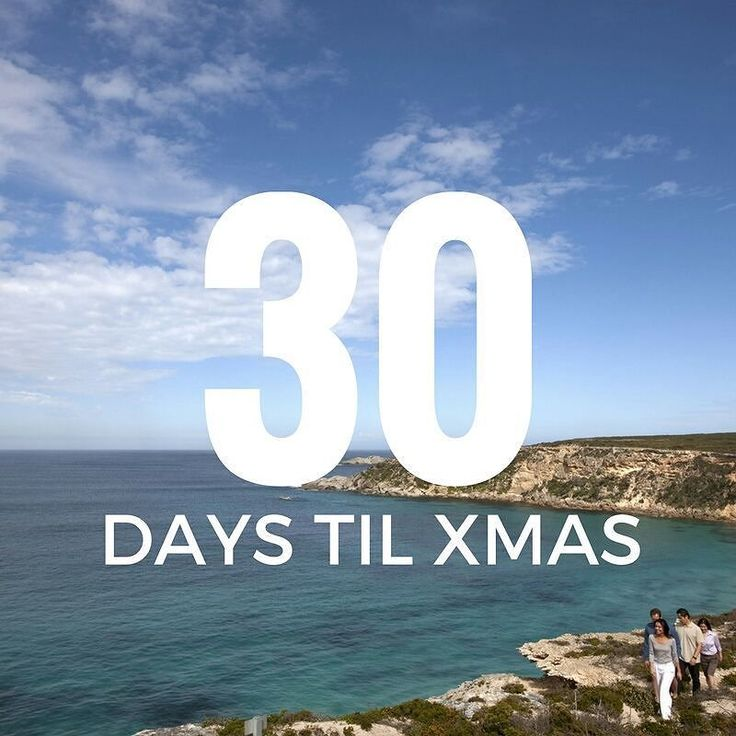 30 days till Xmas! #xmas #holidays #2016 #holidayseason #holidays2016 #christmascountdown2016 #christmasiscoming #beach #holiday