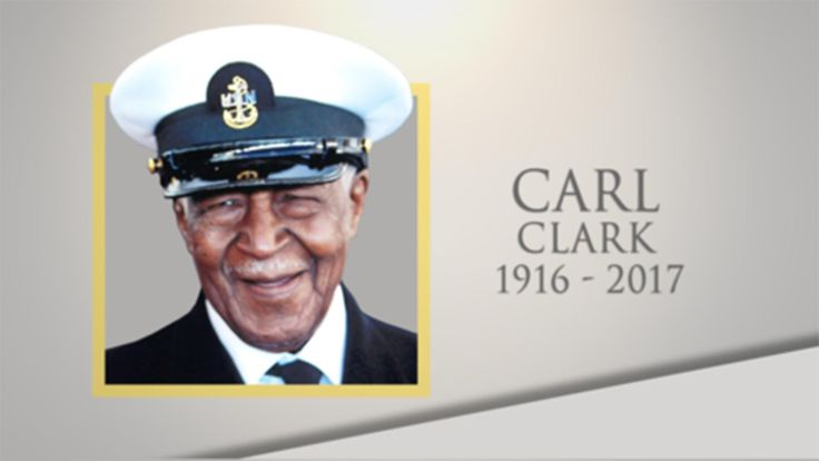 World War II veteran Carl Clark died Mar. 16 at the age of 100. He was awarded the Navy and Marine Corps Commendation Medal more than 60 years after he saved the lives of several men onboard the USS Aaron Ward in 1945. His heroic actions went unrecognized for many years because he was black, he said.