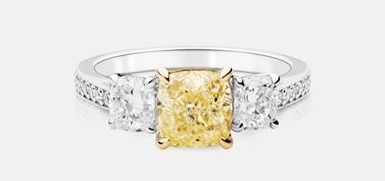 Please read and share our first blog post! And (if that wasn't enough) here's a stunning canary diamond ring to brighten up your day!   http://www.kimberfire.com/a-brilliant-way-to-buy-a-diamond/