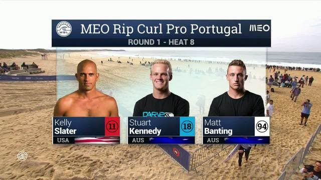 Meo Rip Curl Pro Portugal: Round One, Heat 8