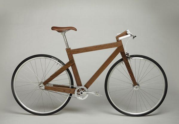 Wooden Bike by Seth Deysach