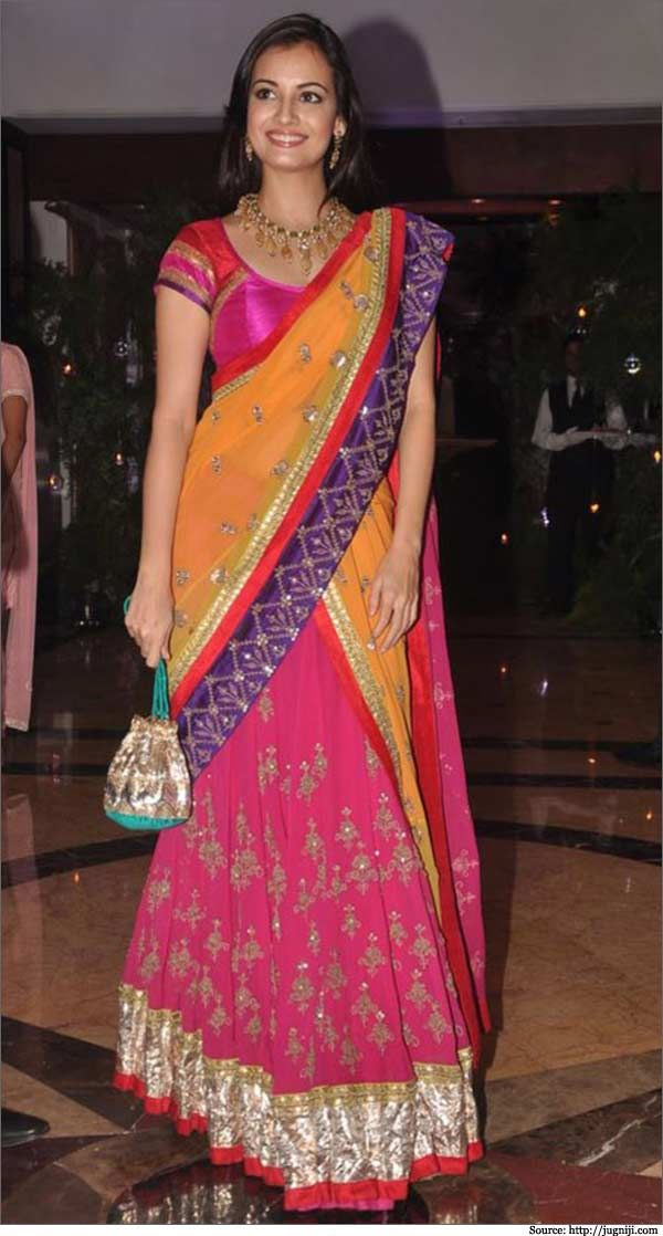 Designer Half Sarees   Half Saree Designs   Half Saree Collections