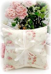 Everyday Romance Vintage Roses Pillow - Victorian Pillows - Roses And Teacups