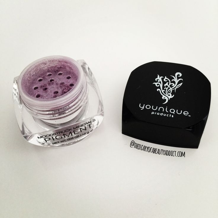 #AugustBeautyChallenge - Day Thirty - Lavender - I love Purple Eyeshadow and have lots of deep smokey plums and mauves but this is the only true 'Lavender' I own! It's Younique's Mineral Eye Pigment in shade Flirty and it's a really versatile loose powder eyeshadow product that can be used wet or dry to give more vibrant or more subtle effects. They are also easily blend able and have a pretty shimmer! #TheBeautyAddict
