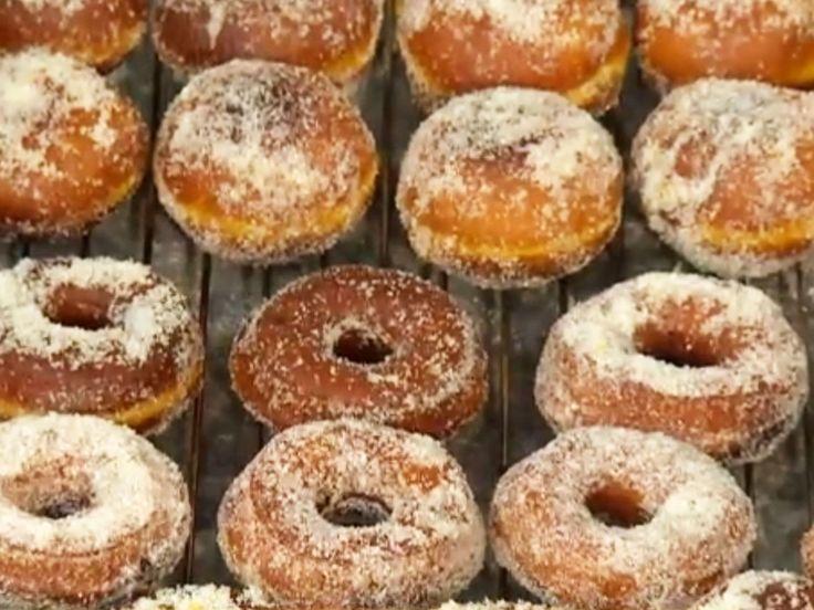 Saffransmunkar med färskost och havtornsmarmelad | Recept från Köket.se