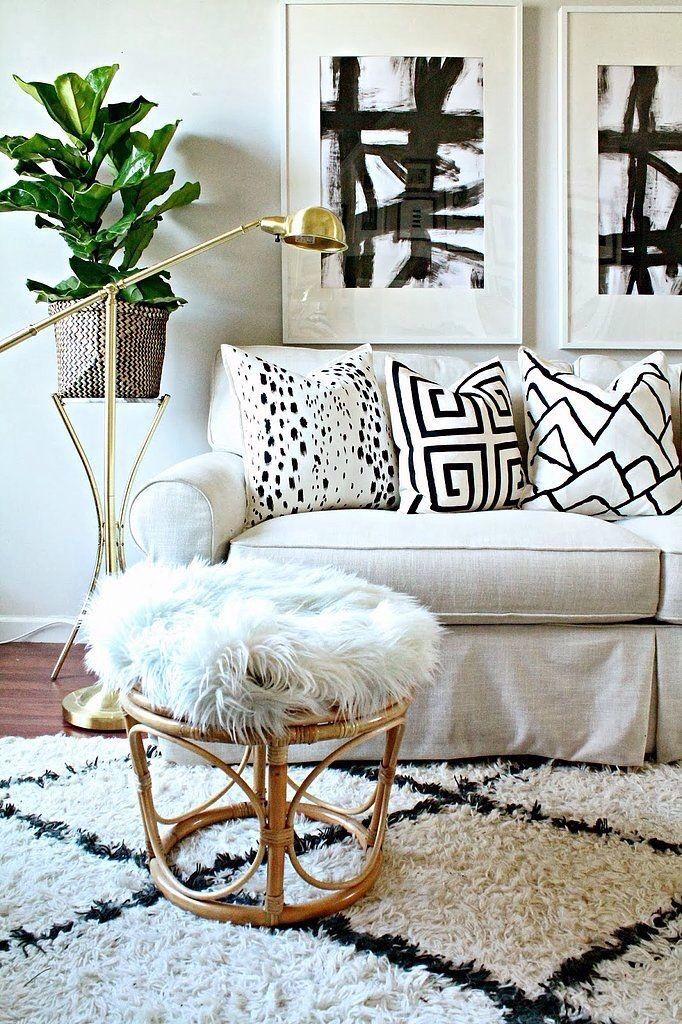 Create designer pillows with this DIY
