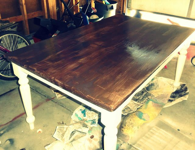 A Grace Full Life  Old Kitchen Table MakeoverBest 25  Old kitchen tables ideas on Pinterest   Old door tables  . Redo Old Kitchen Table. Home Design Ideas