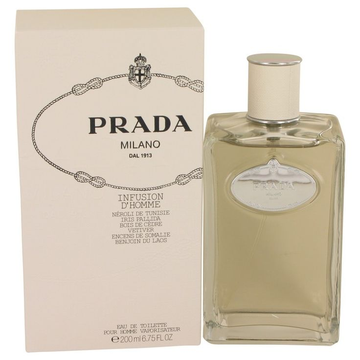 New #Fragrance #Perfume #Scent on #Sale  Infusion d'Homme by Prada 6.7 oz / 200 ml EDT Spray - A masculine scent that is at the cutting edge of fragrant fashion, this is an elegant Woody-Floral for men. Top notes are Mandarin Orange, Neroli which are blended with heart notes of  Iris, Galbanum, Cedar, Vetiver. The base notes are Benzoin and  Frankincense.. Buy now at http://www.yourhotperfume.com/infusion-d-homme-by-prada-6-7-oz-200-ml-edt-spray.html