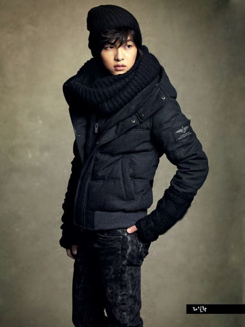 Song Joong Ki --- UM... who dis is? He cute. Must be in the army, haven't seen him in anything recently.