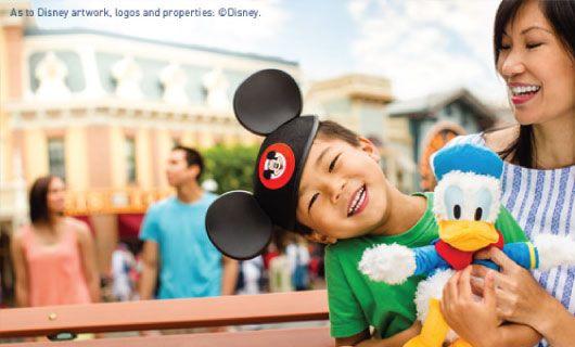 Ne manquez pas cette offre spéciale de Vacances #WestJet sur les forfaits vacances à #Disneyland.