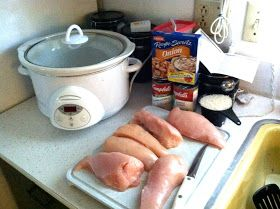 The Stoker Kitchen: {wednesday weekly meal} 'Forgotten Chicken'