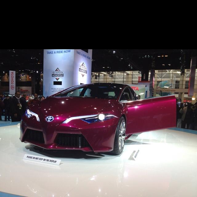 Pink Toyota