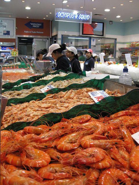 Sydney Fish Market, Sydney, Australia.  Photo: MercerBalls, via Flickr