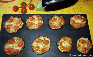 4 passi nella mia vita: Antipasti: Pizzette di melanzane