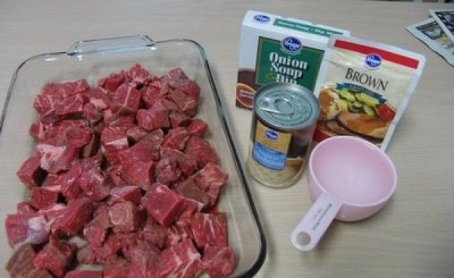 Mommy's Kitchen: No Peek Beef Tips {Over Pasta, Rice or Mashed Potatoes} | Well CookedWell Cooked