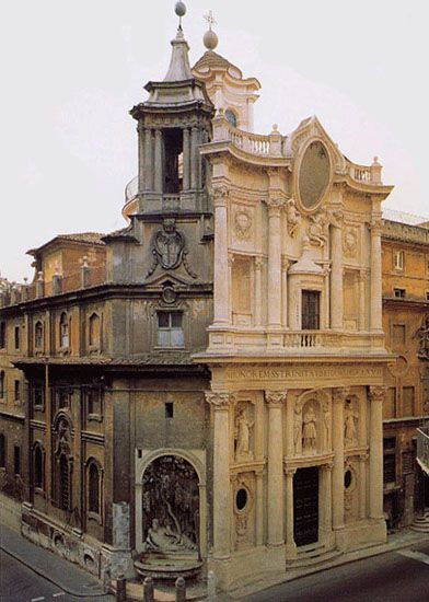 61 best 205 baroque in italy and spain images on pinterest for Italian baroque architecture