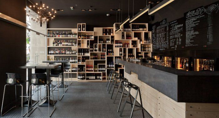 Divino Wine Bar Interior Design By Suto Interior Architects, Budapest
