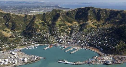 My home port Lyttelton South Island NZ