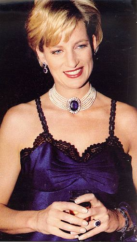 9 December, 1996: Princess Diana during The Costume Institute Gala Honors at the Metropolitan Museum of Art in New York City.