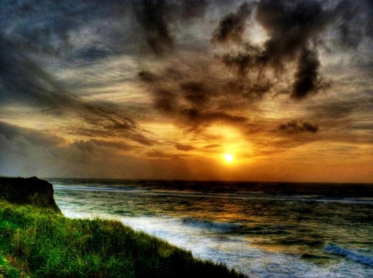 Pôr do Sol, junto do Farol de S. Pedro
