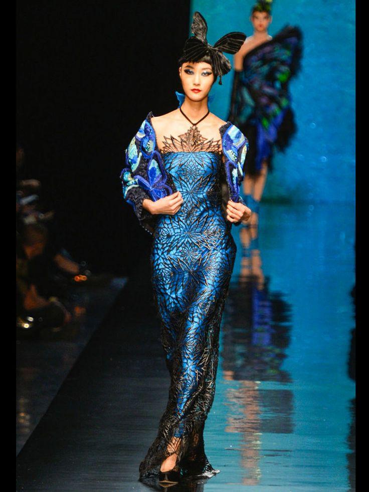 Le défilé Haute Couture Jean Paul Gaultier printemps-été 2014