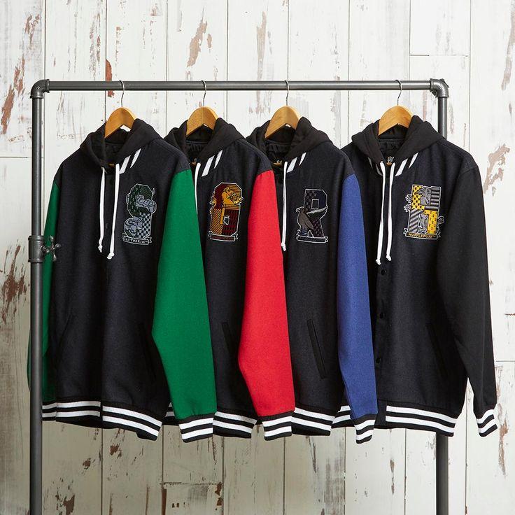 Take your pick| Harry Potter House Varsity Jackets