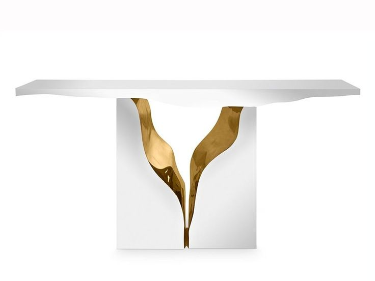 Lacquered Rectangular Console Table LAPIAZ Console By Boca Do Lobo