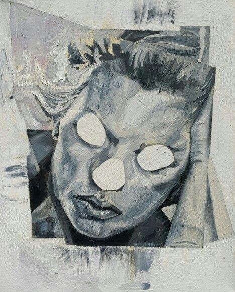 Untitled, oil on canvas. Nathan Vuuren.