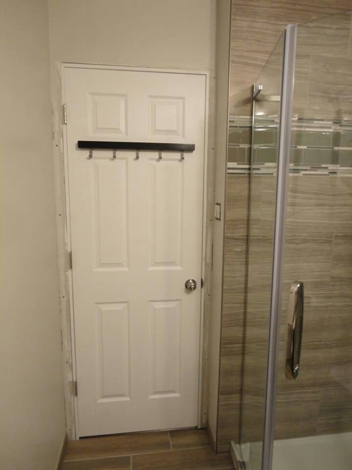 Door goes in.