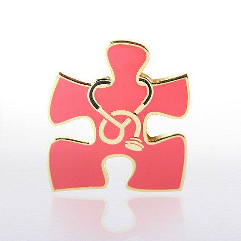 Essential Piece Stethoscope Lapel Pin