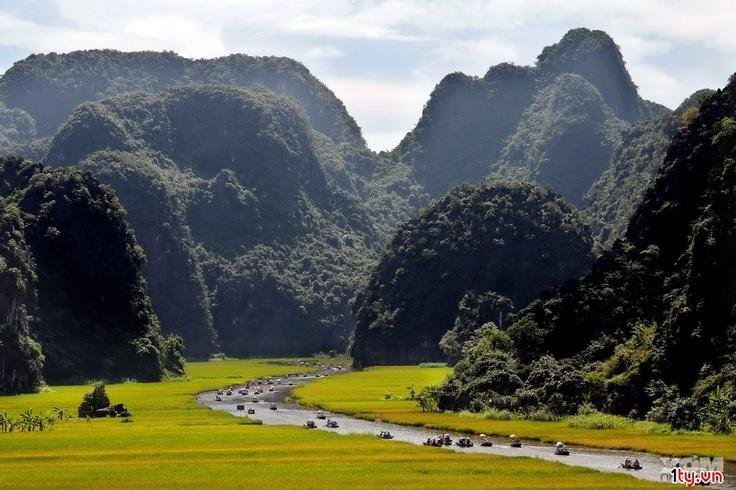 Tamcoc, Vietnam