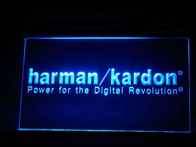 Harman/Kardon LED Light Sign www.shacksign.com