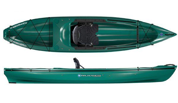 Wilderness Systems Commander 120 Fishing Kayak Reviews