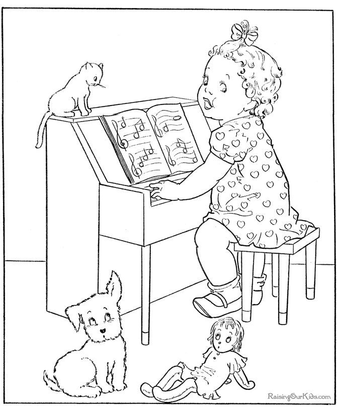 1248 best pages 2 color images on Pinterest  Coloring books