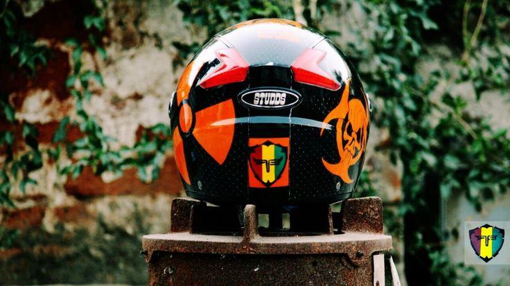 For sale!!No stickers!! Custom painted Helmet. DM for enquiry!! Brand new custom helmet. #helmets #custom #customhelmet #radioactive #ktm #duke #biohazard #snakeskin #skull #bike #bikers #throttlezone #bikersofinstagram #classic #riders #paint #rbcustoms_  #limitededition #india #udaipur #instaudaipur #rajasthan