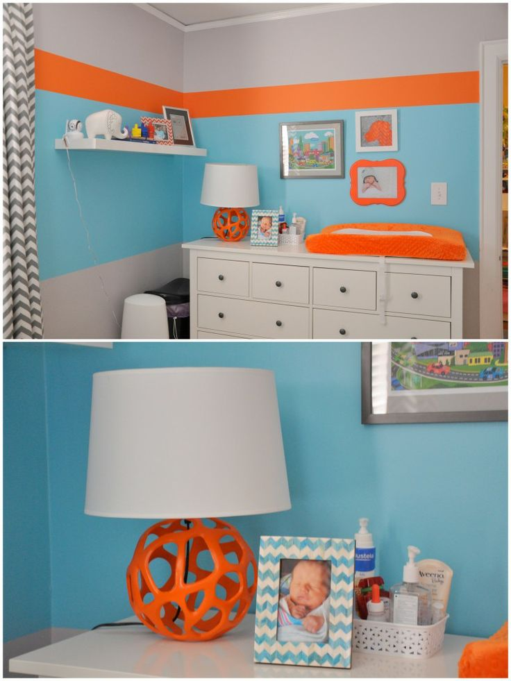 175 best Orange baby rooms images on Pinterest | Babies nursery ...