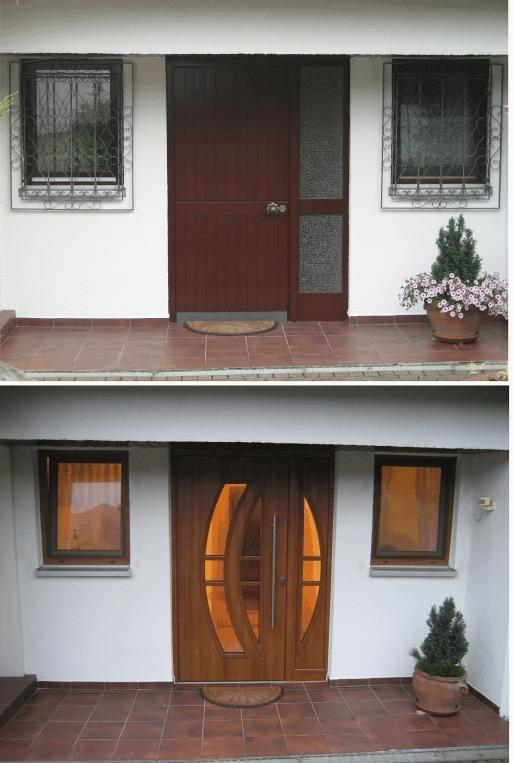Kunststofffenster holzoptik  28 besten WINTRO Fenster und Haustüren: Neue Haustüren Bilder auf ...